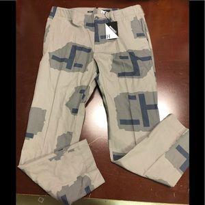 HUF gray/blue cargo pants size 38 waist